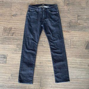 7 For All Mankind Luxe Performance Slimmy Jeans 33